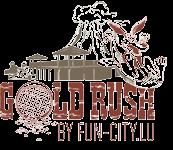 Logo Gold Rush by Fun-City.lu