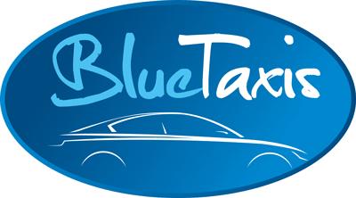 Logo Blue-Taxis SARLS