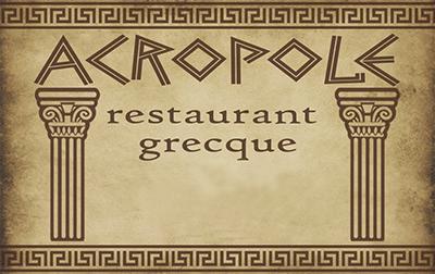 Logo Restaurant Acropole