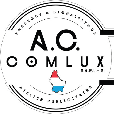 Logo AC COMLUX signalétique & multi-services