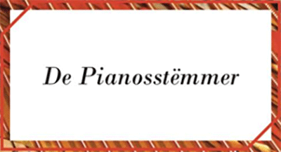 De Pianosstëmmer - Iwan De Scheemaeker