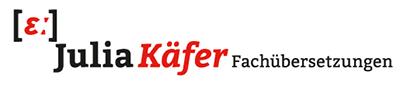 Julia Käfer Fachübersetzungen