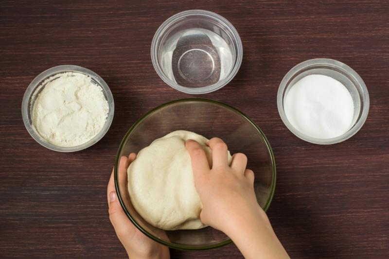 person who makes salt dough