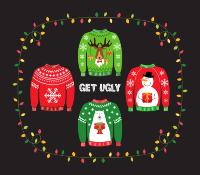 Put on your Christmas sweater!