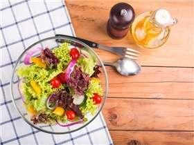 Quoi de mieux qu'une salade lorsqu'il fait chaud ?