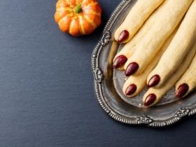 Biscuits doigts de sorcière Halloween recette