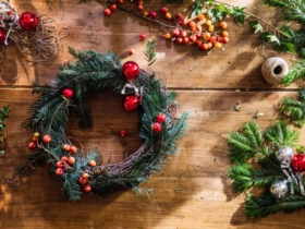 DIY : fabriquez votre couronne de Noël !