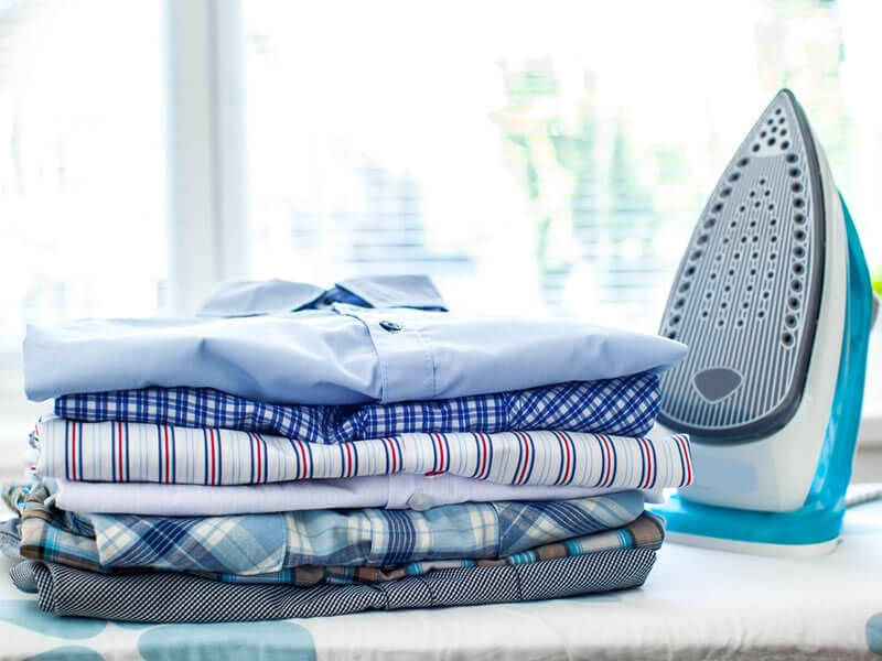 Our tips for ironing a shirt