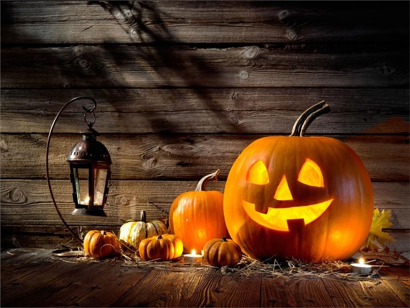 Dekoréiert Är Appartement fir Halloween