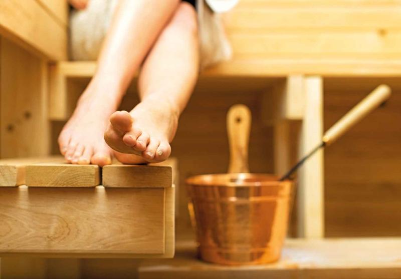 Have a sauna at home