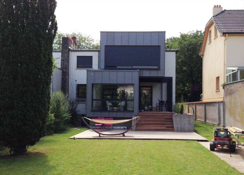 Realize the extension of your house