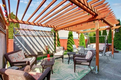 Build your covered terrace