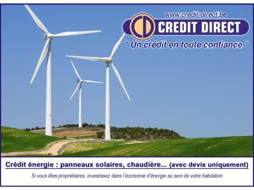 Crédit énergie / Prêt vert