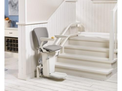 Monte-escaliers The Two: idéal pour les escaliers en courbes