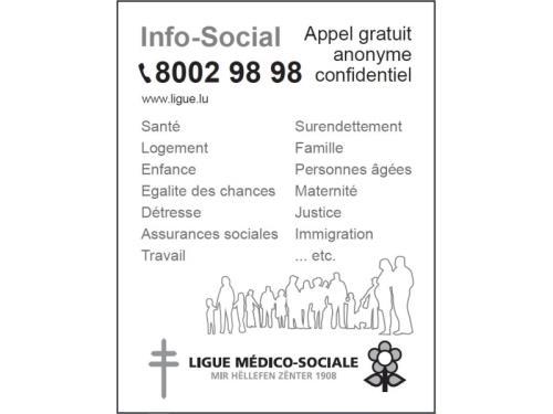 Info-Social - APPEL GRATUIT 8002 98 98
