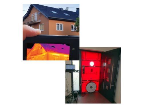 Blower Door Test & Thermographie infrarouge
