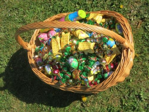 Nos lapins fêtent Pacques