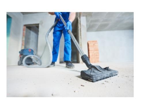 Nettoyage de fin de chantier/construction