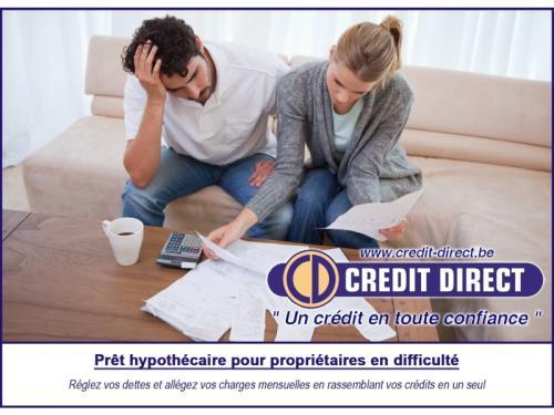 Prêt hypothécaire propriétaires en difficulté