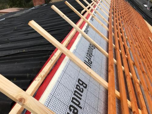 Rénovation totale d'une toiture & façade