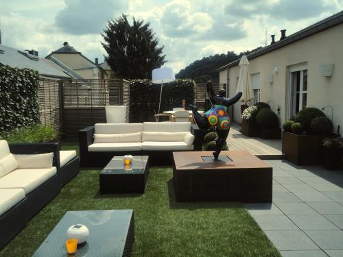 Jardin sur toiture
