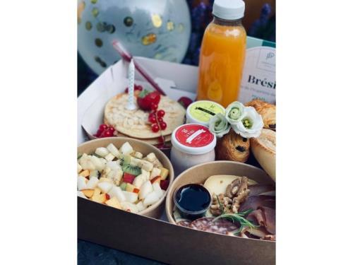 Petit Déjeuner Salé/Sucré - 2 personnes