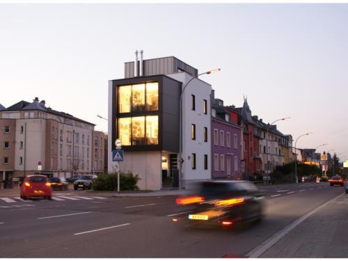 Maison d'architecte avec bureau