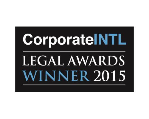 Legal Award 2015