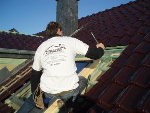 Restauration de toiture