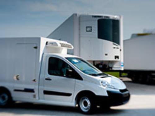 Camion et fourgonnettes de livraison