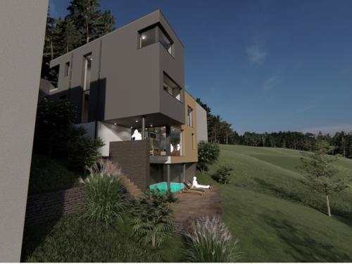 Construction d'une maison unifamiliale