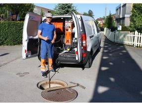 Nettoyage de canalisations