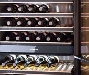 Armoire à vins - Stockage silencieux et sans vibrations