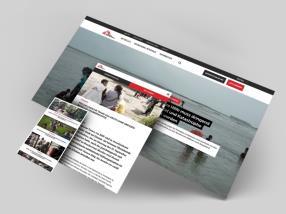 Unsere Webseite in deutsch