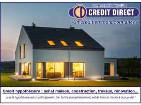 Crédit hypothécaire / Prêt immobilier