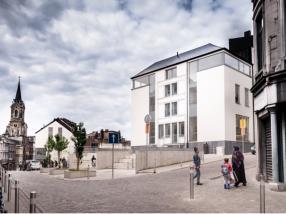 Revitalisation urbaine Spintay à Verviers (BE) / Réalisation