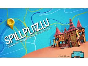 Découvrez l'application gratuite Spillplaz.lu !