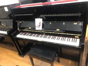 Piano droit neuf PETROF 125 F1 laqué noir