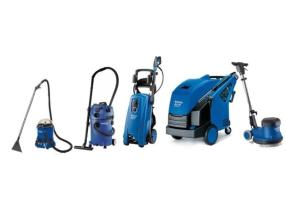 Short and long term rental of cleaning machines