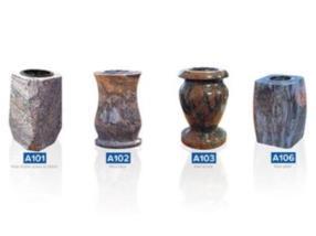 Vases en granit