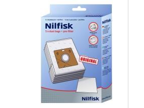 Paquet de sacs poussières pour Nilfisk Elite/Extrême/King/GM