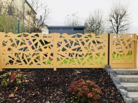 Portillon , avec clôture sur mesure
