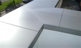 Couvre Mur Alwitra en aluminium laqué
