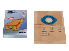 Paquet de sacs poussières pour Nilfisk GM/GS 70/80/90