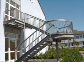 Escaliers d'extérieur
