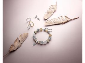 Bracelet, bagues et boucles d'oreilles Majestic