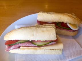 Divers sandwichs