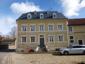 Neue Dachkonstruktion an historischem Gebäude