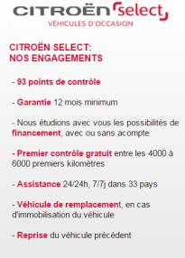 Citroën Select Occasion