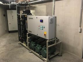 Centrale CO2 au Proxy Delhaize Soho
